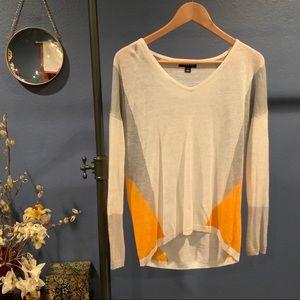Geometric color block Trouvé sweater